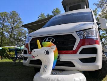 #camperliebe campen mit dem Campervan Kastenwagen #cl1
